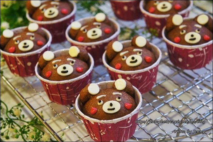 可可熊杯子麵包8