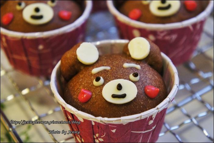 可可熊杯子麵包11