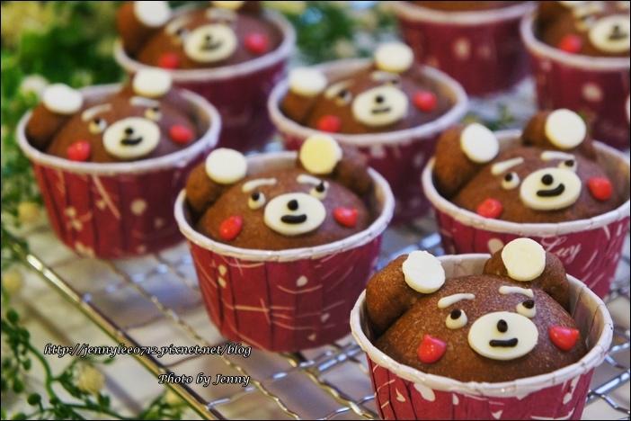 可可熊杯子麵包10