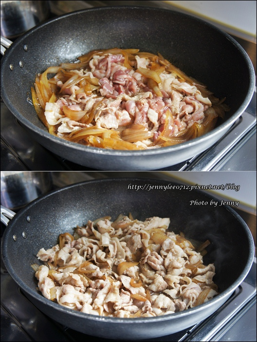 壽喜燒豬肉丼飯4