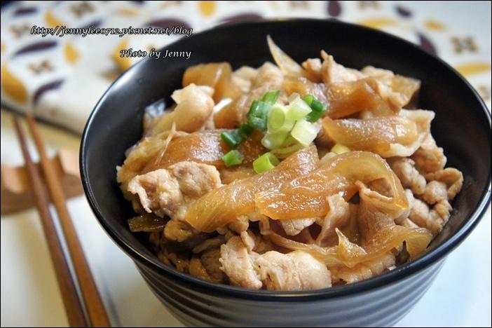 壽喜燒豬肉丼飯5