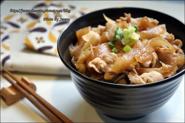 壽喜燒豬肉丼飯6