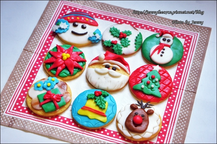 聖誕翻糖餅乾8