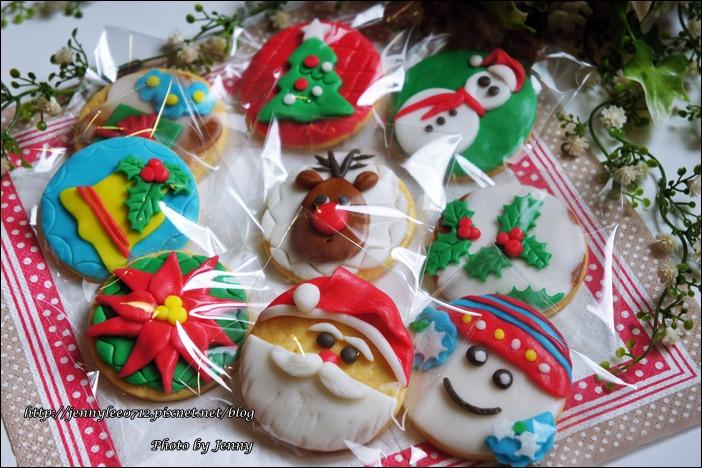 聖誕翻糖餅乾9