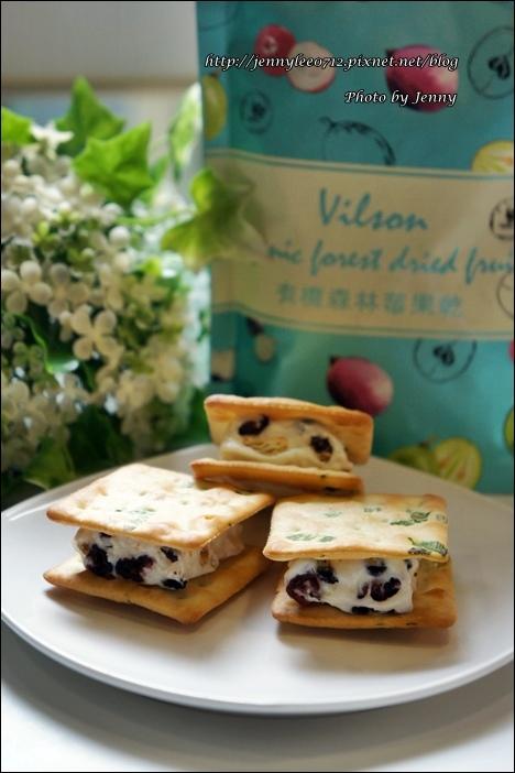 森林莓果QQ夾心餅10