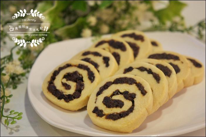 莓果乾捲心酥餅8