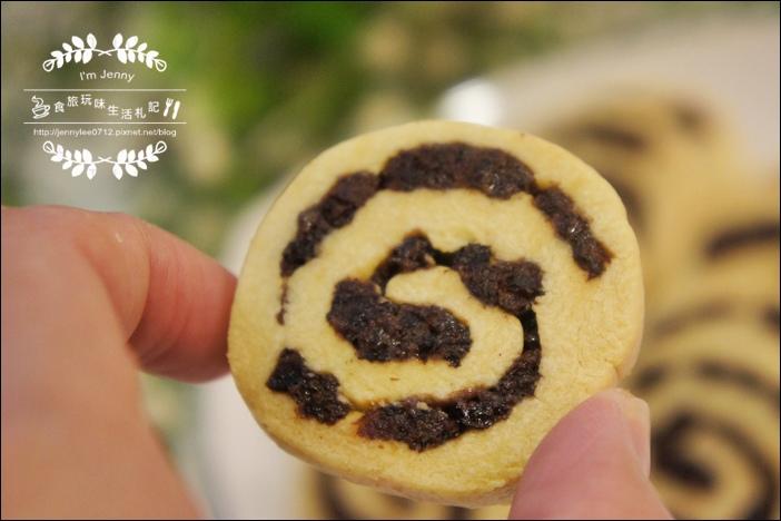 莓果乾捲心酥餅9