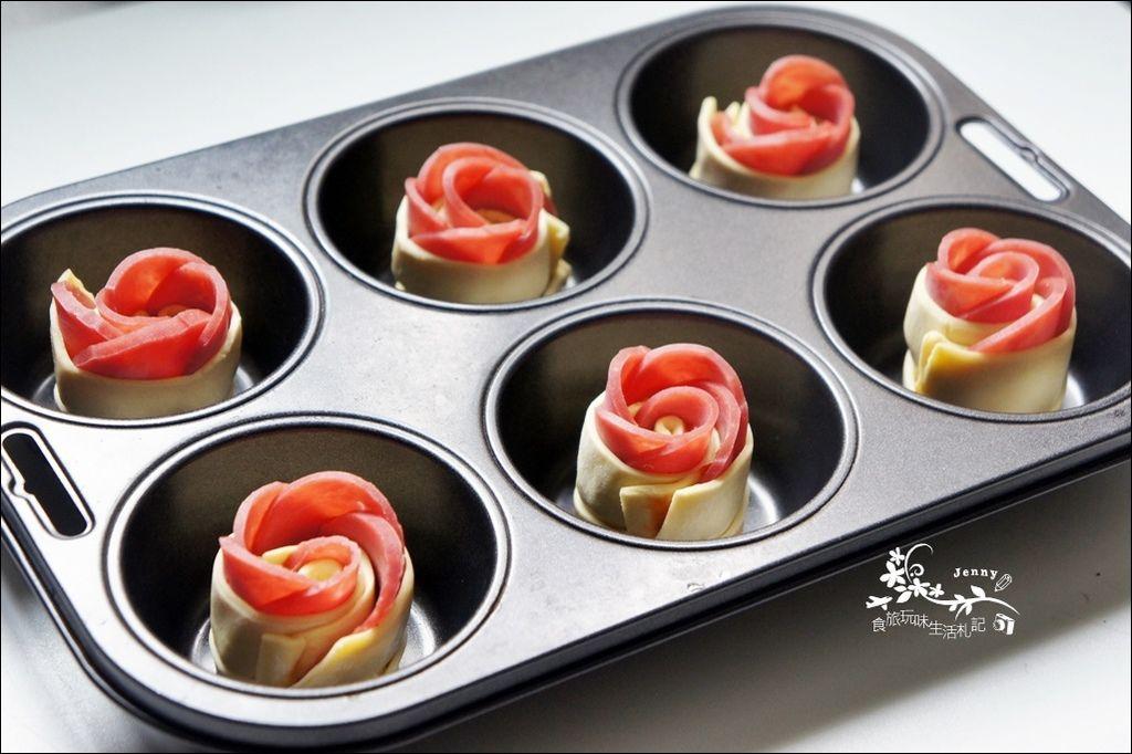 火腿玫瑰酥5