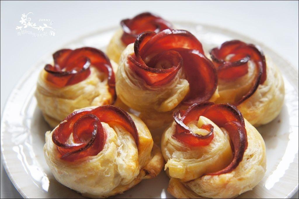 火腿玫瑰酥8