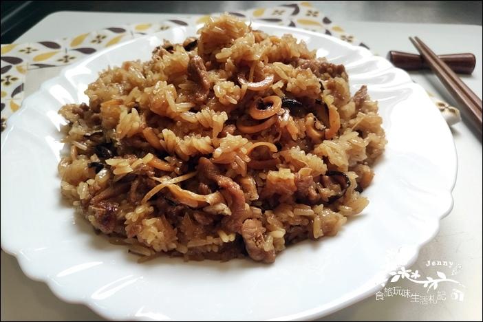 香菇肉絲油飯5