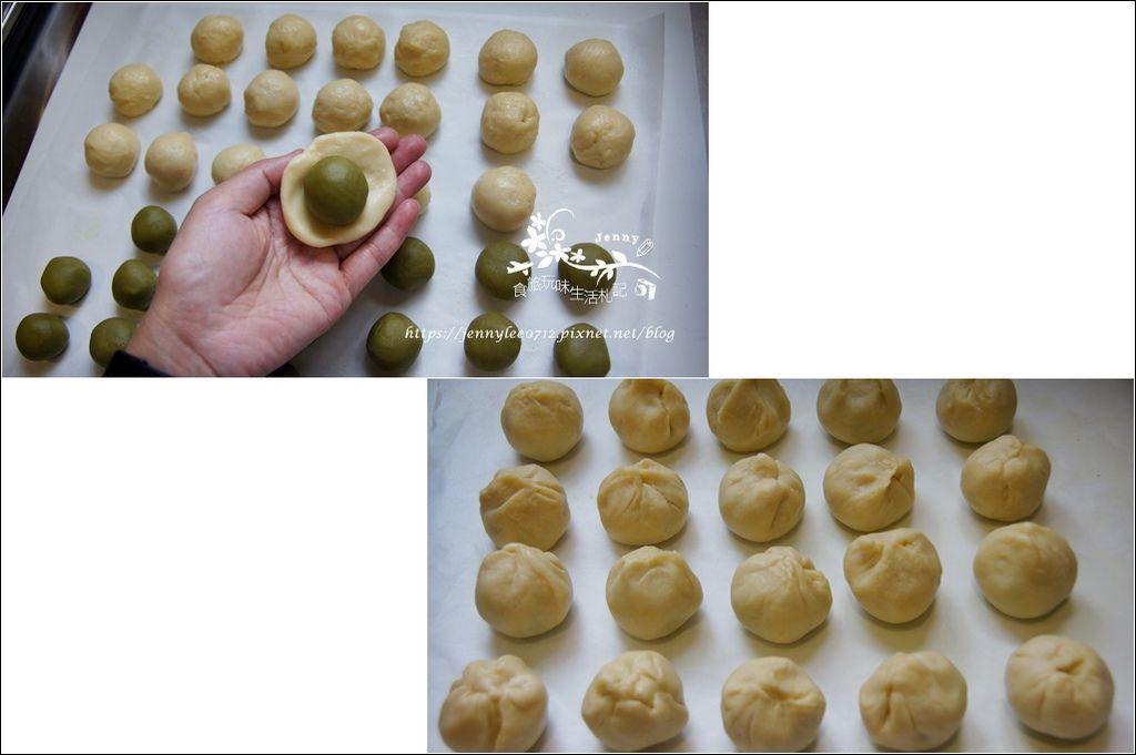 抹茶紅豆菊花酥4.jpg