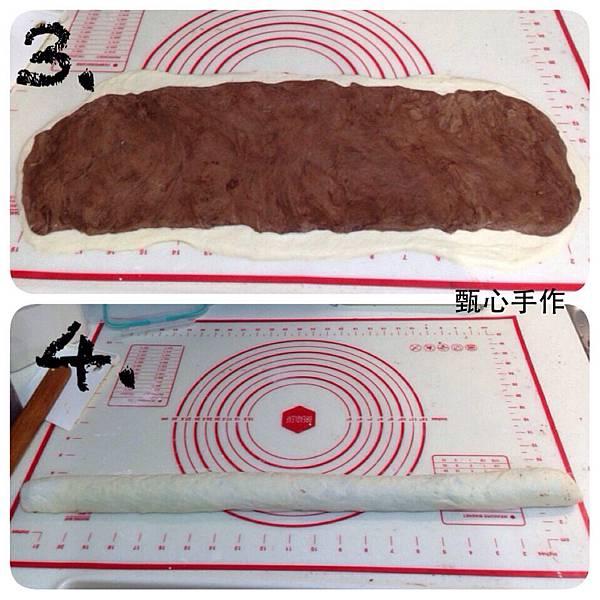 爆漿巧克力麵包2