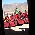 桑耶寺的喇嘛,,