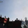 煙裊的大昭寺
