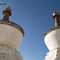 札什倫布寺的白塔