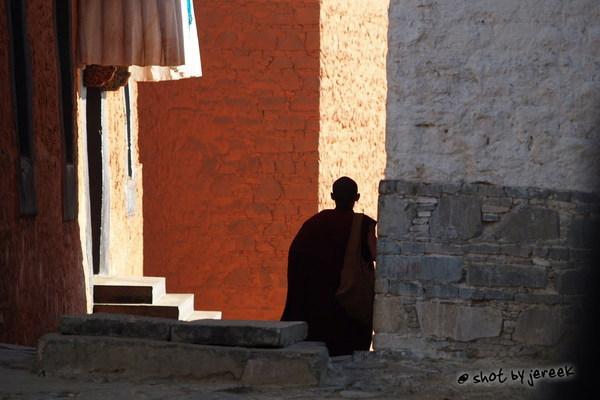 札什倫布寺的喇嘛