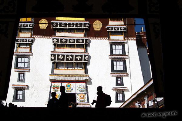 布達拉宮框景