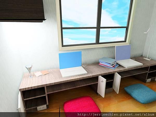 橫科和室房-窗前書台特寫.jpg