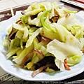 高麗菜炒木耳3