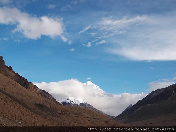 20150915-3-往珠峰路上看到珠峰 (2).JPG