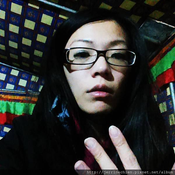 20150915-4珠峰大本營-手麻了.jpg