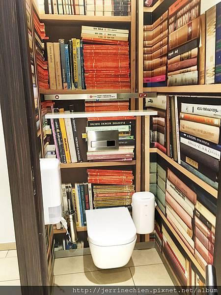 比利時休息站-廁所