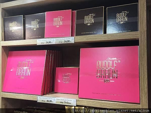 20160209黃金廣場 尿尿小童巧克力