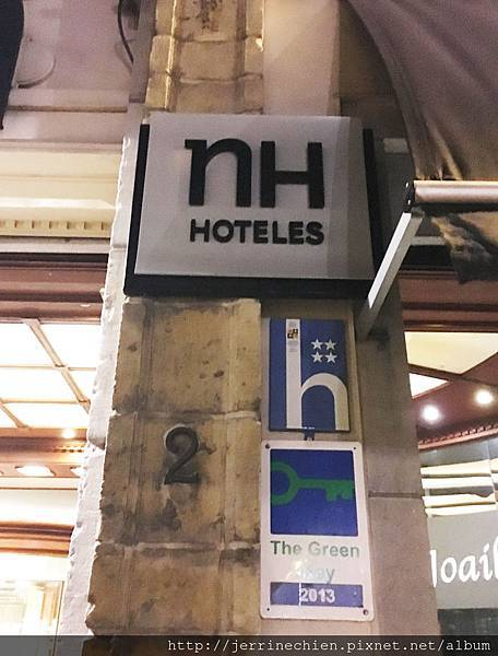 20160209入住比利時nH