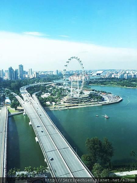 20160916濱海灣金沙酒店鳥瞰F1賽道.JPG