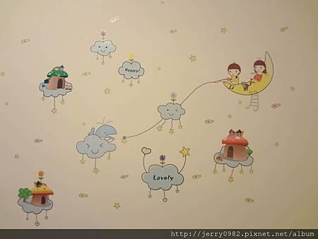 3. 房間-雲端壁貼