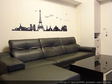 2. 客廳-巴黎風情