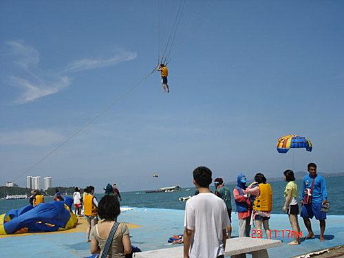 泰國 拖曳傘