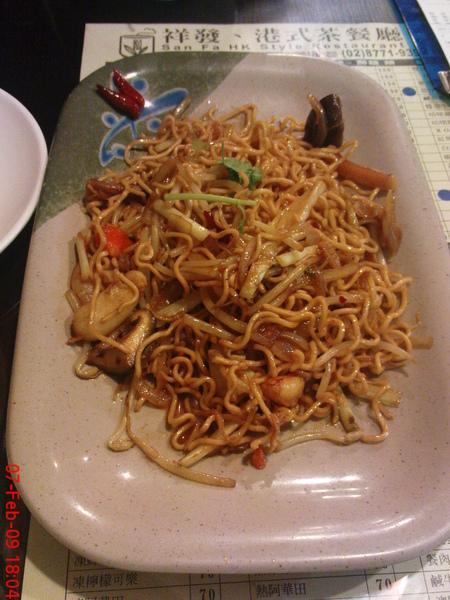 xo醬海鮮炒公仔麵
