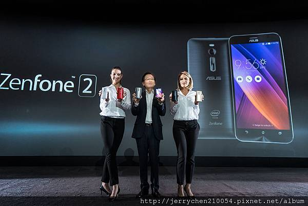 ASUS Chairman Jonney Shih introduces ZenFone 2 at CES 2015.jpg