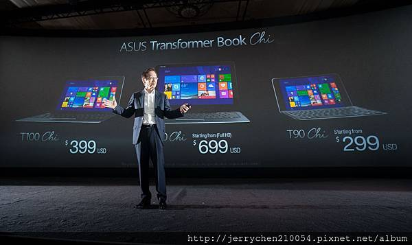 ASUS Transformer Book Chi T300 starts at $799 , T100 starts at $399, and T90 starts at $299.jpg