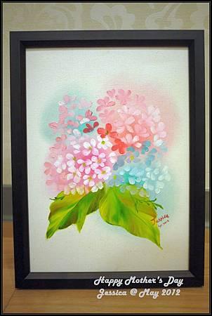 母親節-繡球花