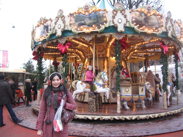 X'mas market @ Les Champs-Elysées
