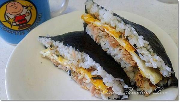 鮪魚蛋壽司