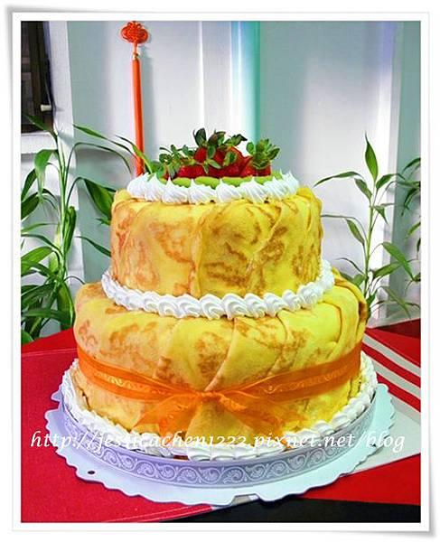 烙紋霜層蛋糕
