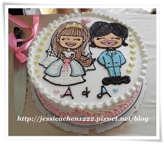 淑鈴的婚宴蛋糕