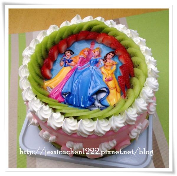 公主蛋糕  大頭貼