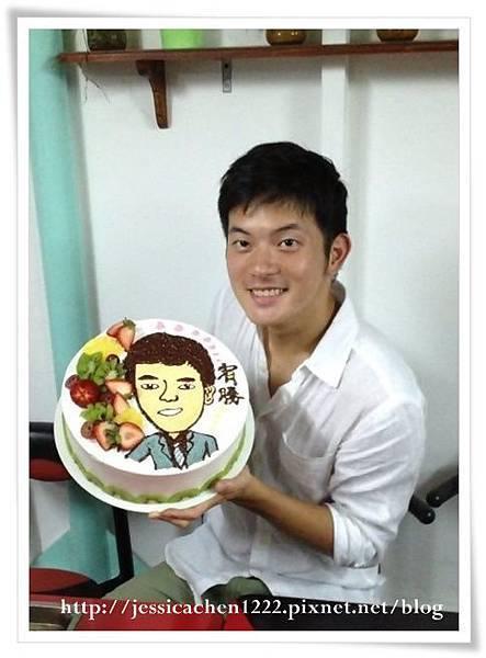 宥勝與蛋糕
