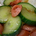 黃瓜炒火腿!黃瓜超多汁!