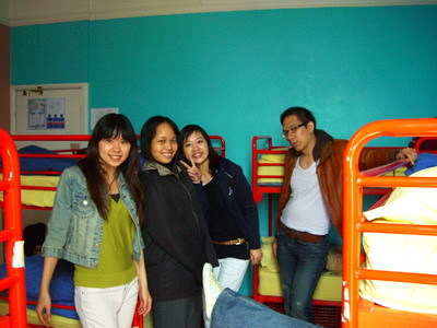hostel房間
