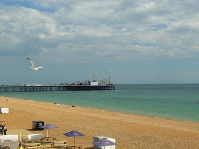Brighton海灘
