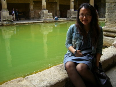 in The Roman Bath