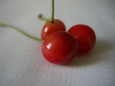 路邊摘的櫻桃