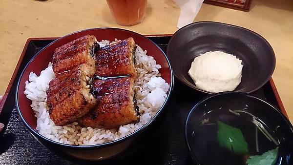 好吃碳燒鰻魚飯