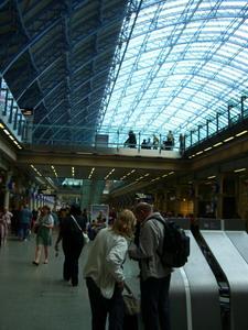 St. Pancras車站滿漂亮的