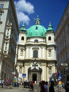 維也納最古老的教堂-聖彼得教堂